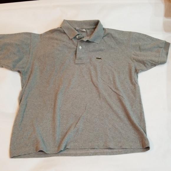 f88ab640e1d45 Rare Vintage Chemise Lacoste polo shirt XXL